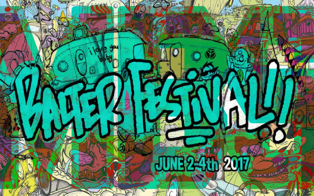 My Bad Sister @ Balter Festival June 2nd-4th 2017 Chepstow Racecourse, Monmouthshire, Wales