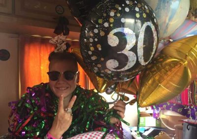 It was also a special year cos the infamous Janie Turtle Girl turned 30