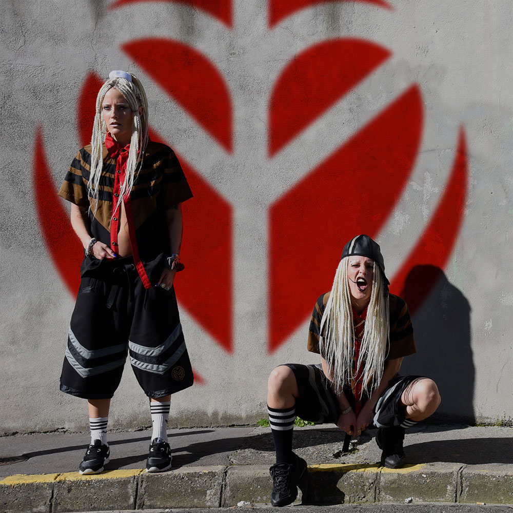 Resist Against Violent Enterprise - My Bad Sister - Polly and Sophie - Shot by Picturaline