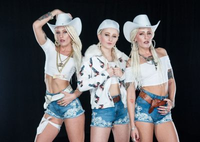 Us and our baby sister reppin cow girl chic - Your Style Video - My Bad Sister
